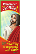 Nothing Impossible with God  Bookmark