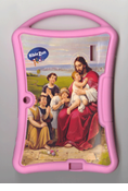 Biblezon Tablet Cover: Kids Silicon Cover, Pink
