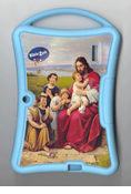Biblezon Tablet Cover: Kids Silicon Cover, Blue