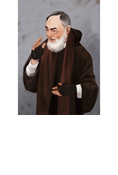 POF Card-Saint Pio of Pietrelcina