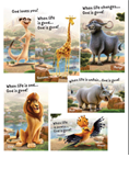 Roar: Life is Wild, God is Good Bible Point Posters