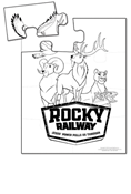Rocky Railway VBS Fun Friends Puzzles Pkg/10