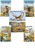 Rocky Railway VBS Bible Point Posters Set of 6