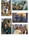Rocky Railway VBS Bible Story Posters Set of 5