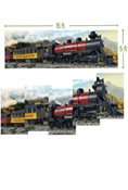 Rocky Railway VBS Giant Train Poster Pkg/5