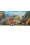 Rocky Railway VBS Printed Backdrop Cloth Panels Pkg/3