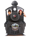Rocky Railway VBS Theme Display