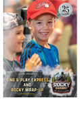 Rocky Railway VBS Sing & Play Leader Manual