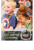 Rocky Railway VBS Preschool Exploration Station Leader Manual