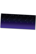 Rocky Railway VBS Starry Night Plastic Backdrop