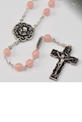 Holy Communion Rosary-Pink