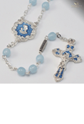 Holy Communion Rosary-Blue
