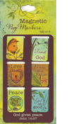 God Gives Peace Magnetic Bookmarks