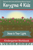 Kerygma 4 Kids Kindergarten Workbook with Stickers
