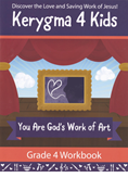 Kerygma 4 Kids Grade 4 Workbook with Stickers