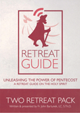 Retreat Guide-Volume One DVD: Unleashing the Power of Pentecost and The One Thing Needed - 2 Retreat Pack
