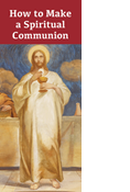 Making a Spiritual Communion