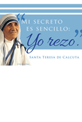 Mother Teresa Magnet, Spanish