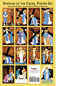 Stations of the Cross for Children Poster Set