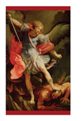 St. Michael Prayer Card