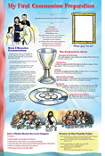 First Communion Family Poster